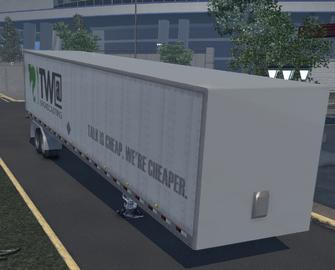 Box trailer - TWA variant