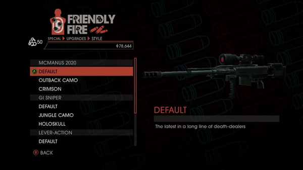Weapon - Special - Sniper Rifle - McManus 2020 - Default