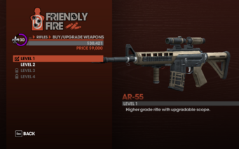 AR-55 Level 1 description