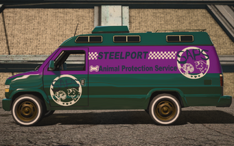 Anchor - Escort2 - left in Saints Row IV