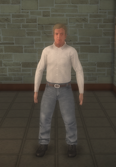 Business male - white generic - character model in Saints Row 2