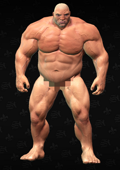 Oleg - The Belgian Problem - character model in Saints Row The Third
