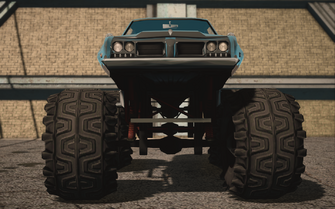 Saints Row IV variants - Bootlegger XL average - front
