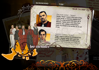 Saints Row promo website - Hector