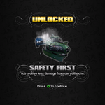 Saints Row unlockable - Abilities - Safety First - reduced vehicle damage