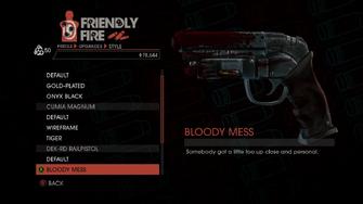 Weapon - Pistols - Heavy Pistol - DEK-RD Railpistol - Bloody Mess