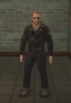 Biker male - white - character model in Saints Row 2