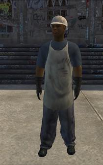 Dockworker - black - character model in Saints Row