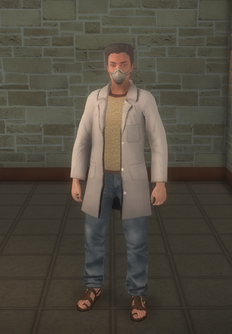 Drugtech - white - character model in Saints Row 2