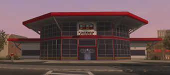 Foreign Power in the Suburbs district in Saints Row