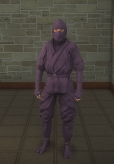 Gang Customization - Ninjas - male soldier 2 - asian