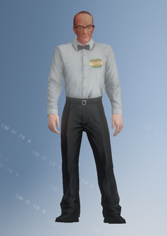 Referee - Alfred2 - character model in Saints Row IV