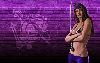 Shaundi - Saints Row 2 promo wallpaper