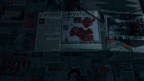 Kinzie's Warehouse - Zombies Everywhere newspaper