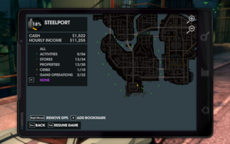 Map - odd gps directions in Saints Row The Third