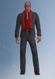 Phillipe Loren - battered - character model in Saints Row IV