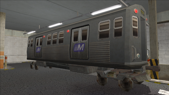 Saints Row variants - El Train - El Train Rear - front right