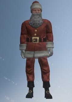 Santa - medium - character model in Saints Row IV
