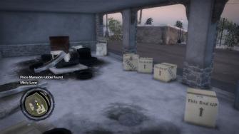 Secret Area - Price Mansion rubble found