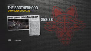 Showdown - complete 50000 cash