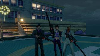 TOGO-13 wielded by Playa, Shaundi, and Pierce