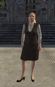 BusinessWoman-02 - white - character model in Saints Row