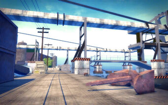 Fox Drive in Saints Row 2 - large anchor