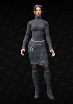 Kiki - character model in Saints Row The Third