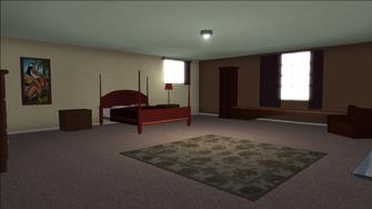 Lopez Mansion in Saints Row - Bedroom 1