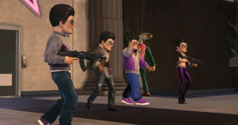 Saints Row The Third - Johnny Gat trailer