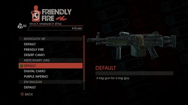 File:Weapon - Rifles - Automatic Rifle - Mercenary LMG - Default.png
