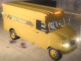 Delivery Truck - Great Freight - front right in Saints Row 2