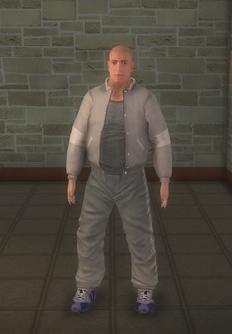 Gyros - white generic - character model in Saints Row 2