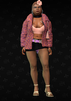 Ho03 - Roberta - character model in Saints Row The Third