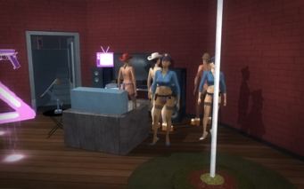 Red Light Loft Stripper Party
