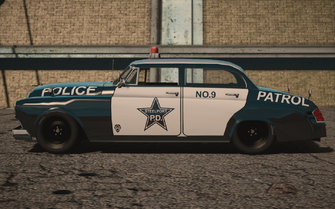 Saints Row IV variants - Gunslingerp Police - side