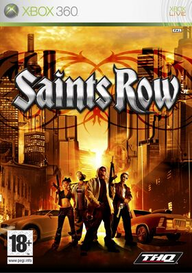 Saints Row box