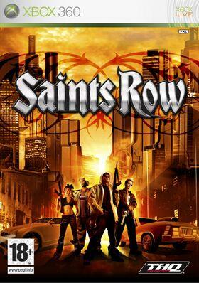 Saints Row box