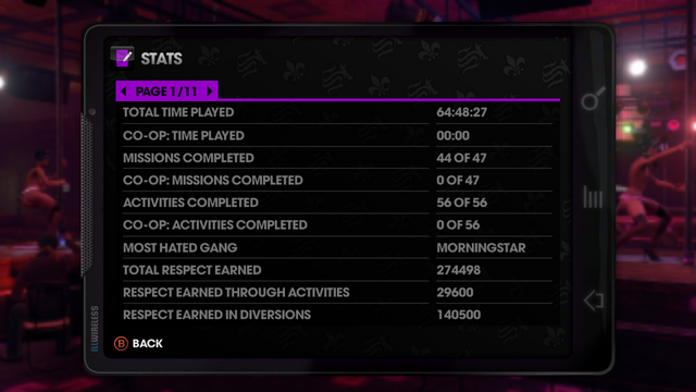 File:Stats page 1 of 11 in Saints Row The Third.png