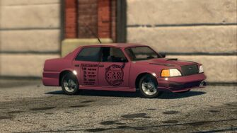 Taxi - front right in Saints Row The Third