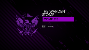 The Warden Stomp - complete