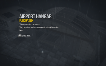 Airport Hangar purchased