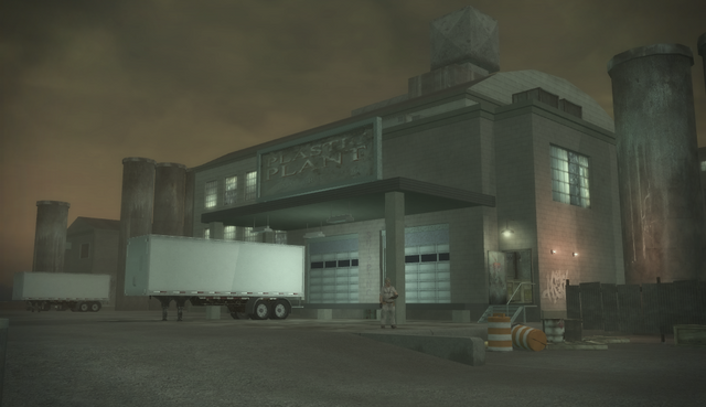 File:Drug Factory - exterior front in Saints Row 2.png