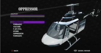 Oppressor - Morningstar variant in Heliport