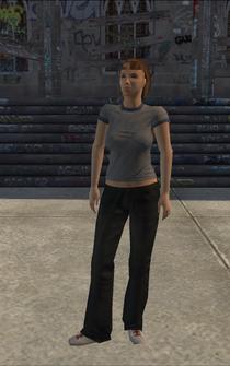 Poor female - hispanic poor female - character model in Saints Row