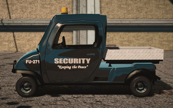 Saints Row IV variants - Knoxville Security - left
