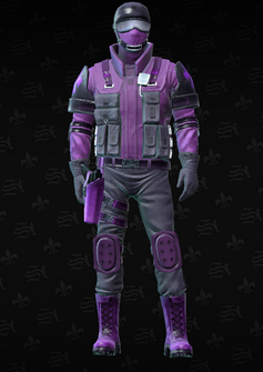 Saints SWAT - Colin - character model in Saints Row The Third