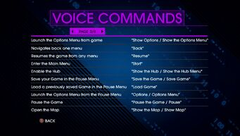 Voice Commands Page 3 - Saints Row IV Re-Elected