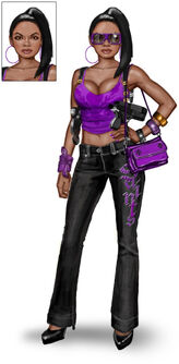 Concept art of generic Saint in Saints Row The Third