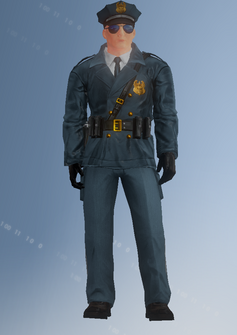 Cop - Alejandro - character model in Saints Row IV